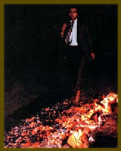 Fred Shadian Firewalking