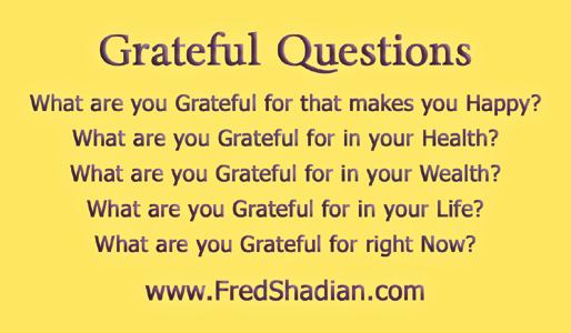 Grateful Questions